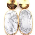 KArli Buxton Studded Agate Earrings