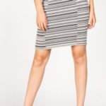 MRena Broken Stripe Pencil Skirt