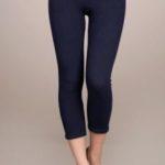 MRena black crop leggings