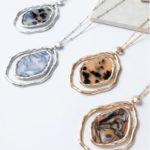 Noelle- Animal Print Necklace