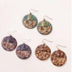 Noelle- Circle Earrings