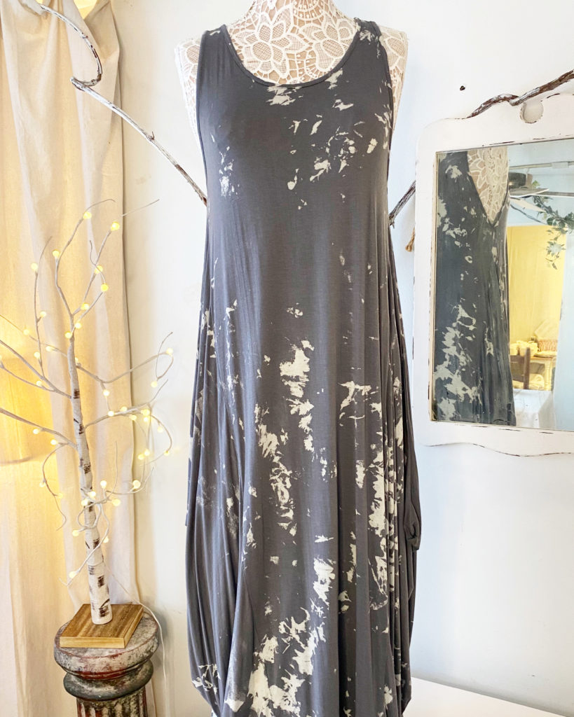 Oro Charcoal Dress