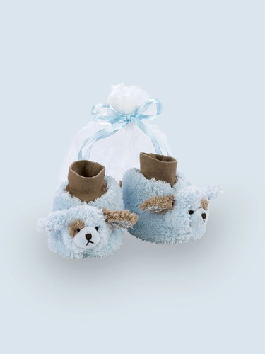 Blue Puppy Dog Booties