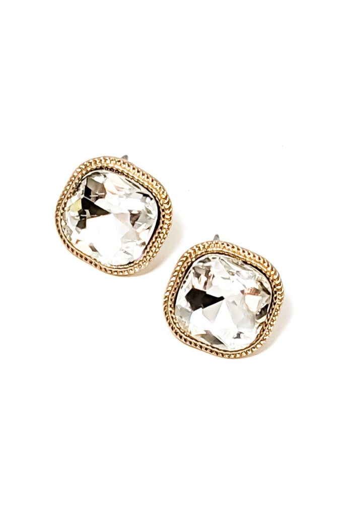 Lyla Earrings in Clear