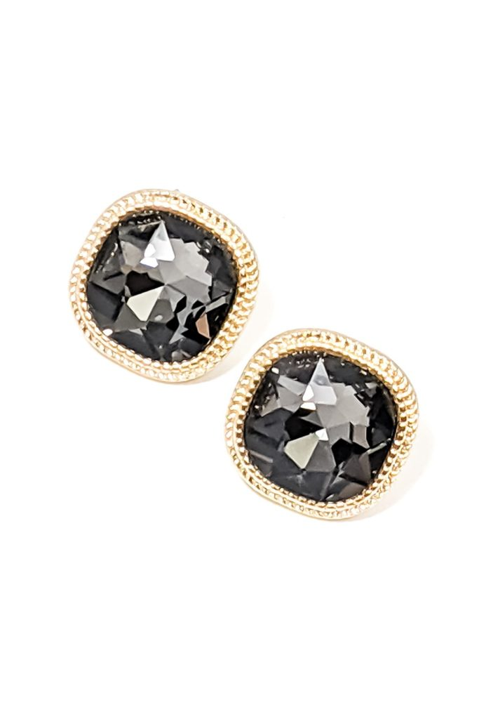 Lyla Earrings in Dark