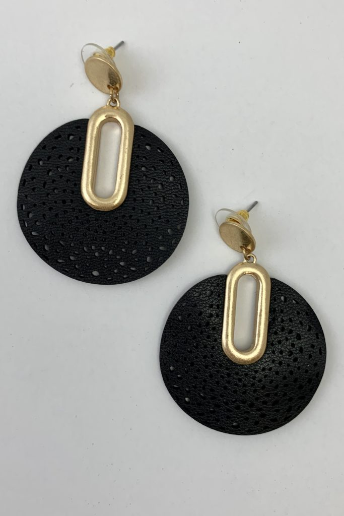 mygirlinla stephani earrings in black