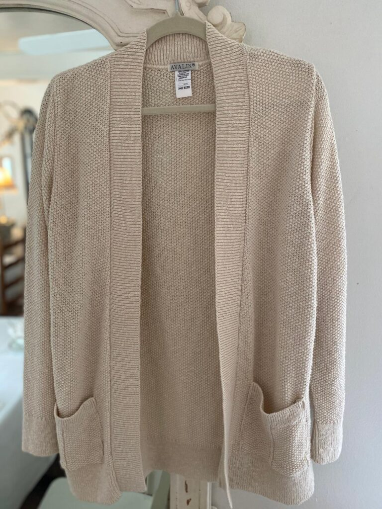 Avalin Seed Stitch Cardigan