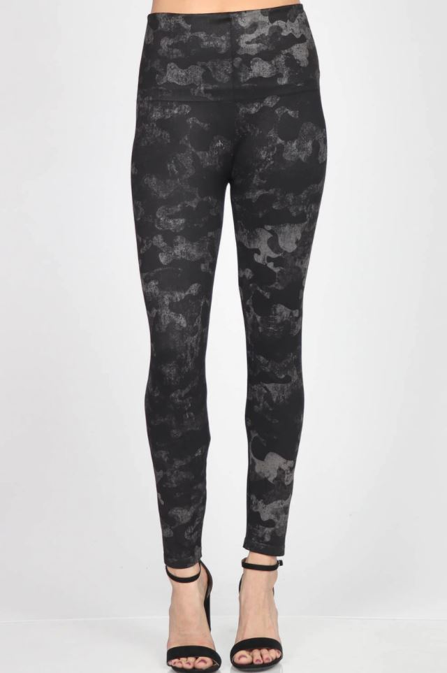 mrena black camo leggings