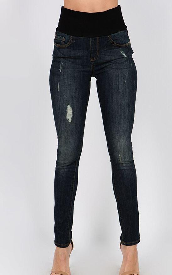 mrena classic jeans high waist