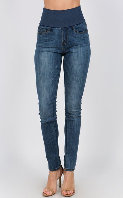 mrena high waisted light denim jeans