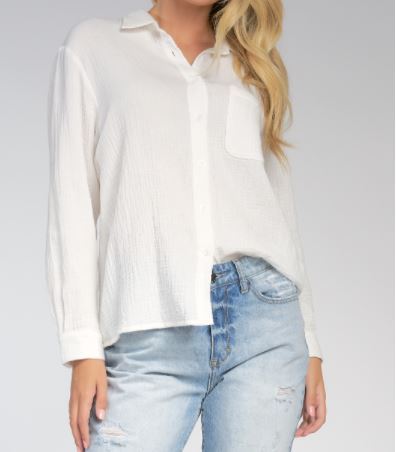 elan ls button top with collar front